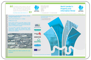 North London Ltd Trifold Leaflet